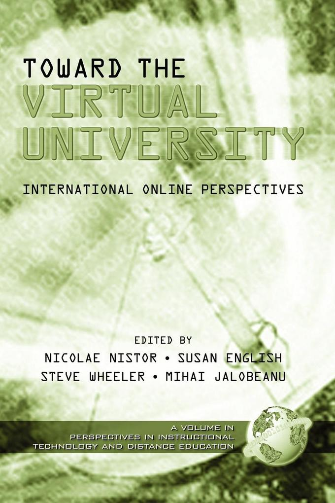 Toward the Virtual University als Taschenbuch