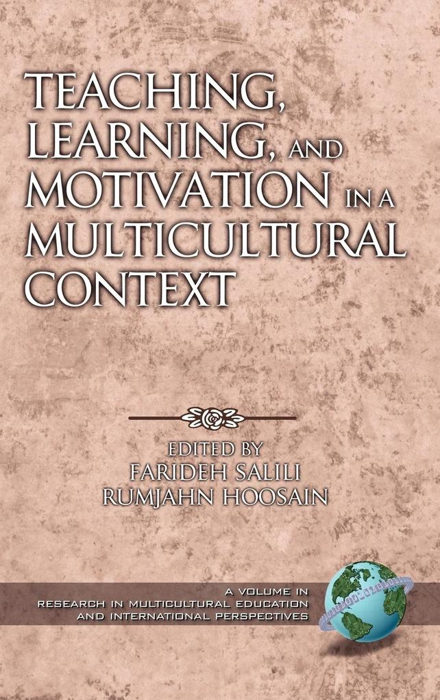 Teaching, Learning, and Motivation in a Multicultural Context (HC) als Buch
