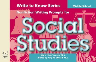 Write to Know: Nonfiction Writing Prompts for Middle School Social Studies als Taschenbuch