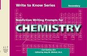 Nonfiction Writing Prompts for Chemistry: Secondary