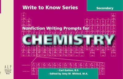 Nonfiction Writing Prompts for Chemistry: Secondary als Taschenbuch