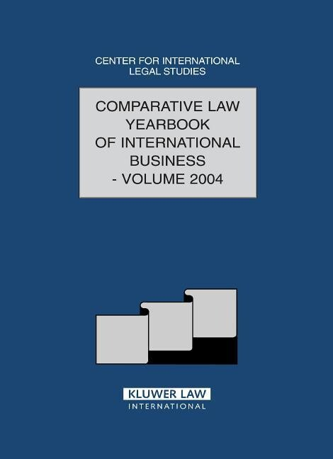 The Comparative Law Yearbook of International Business: Volume 26, 2004 als Buch