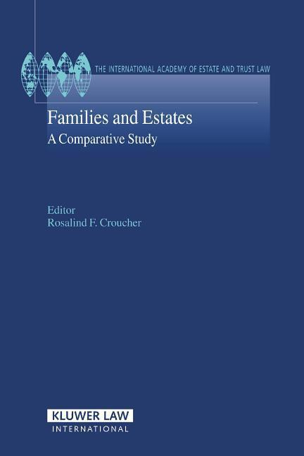Families and Estates: A Comparative Study als Buch