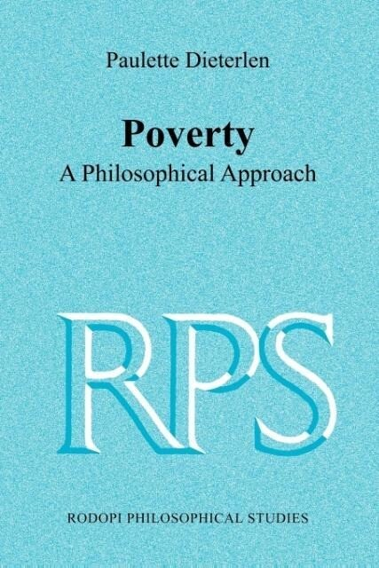 Poverty: A Philosophical Approach als Taschenbuch