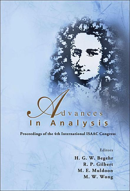 Advances in Analysis: Proceedings of the 4th International ISAAC Congress als Buch