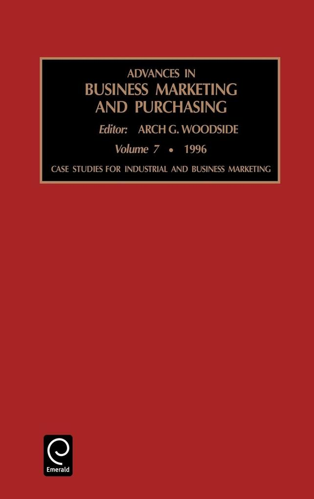 Advances in Business Marketing and Purchasing als Buch