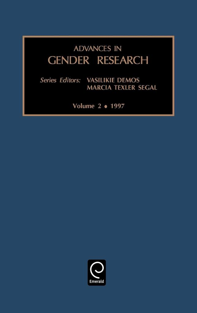 Advances in Gender Research als Buch