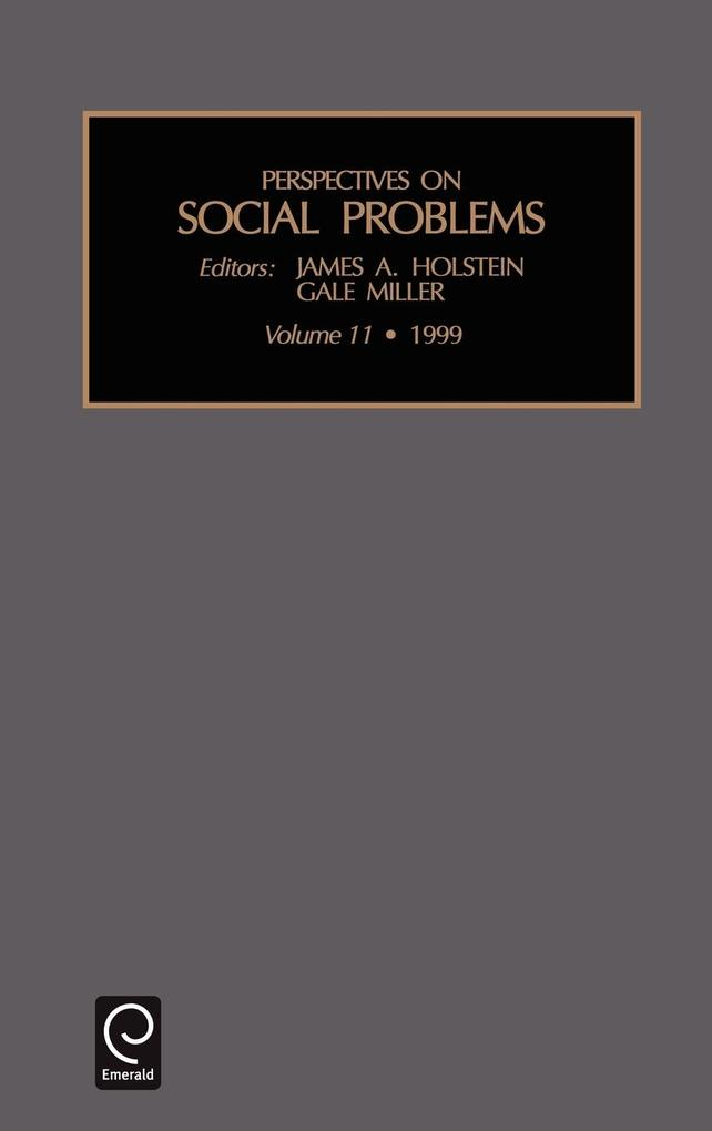 Perspectives on Social Problems als Buch