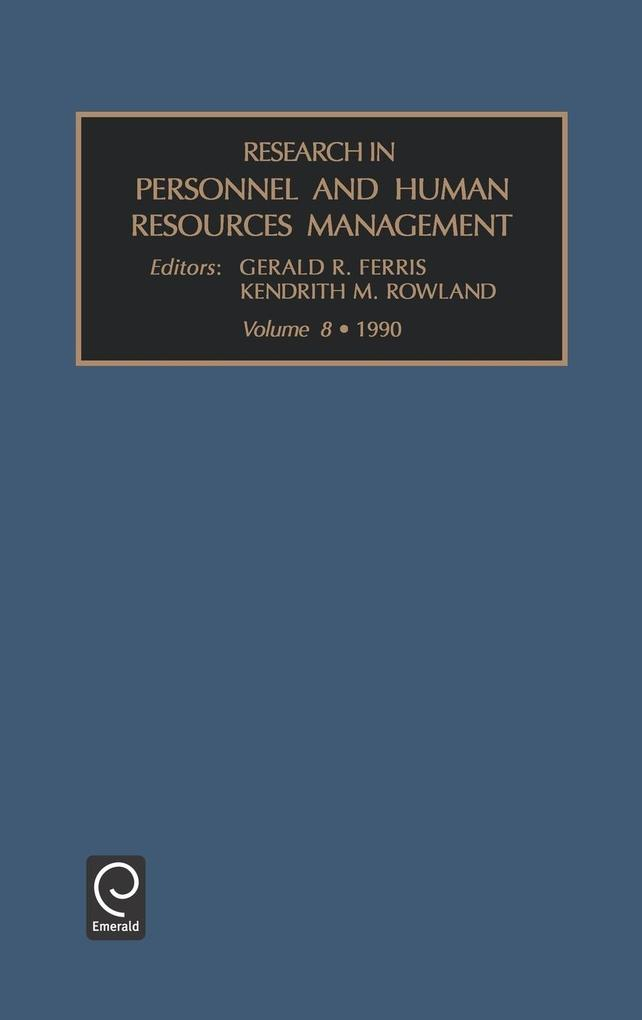 Research in Personnel and Human Resources Management als Buch