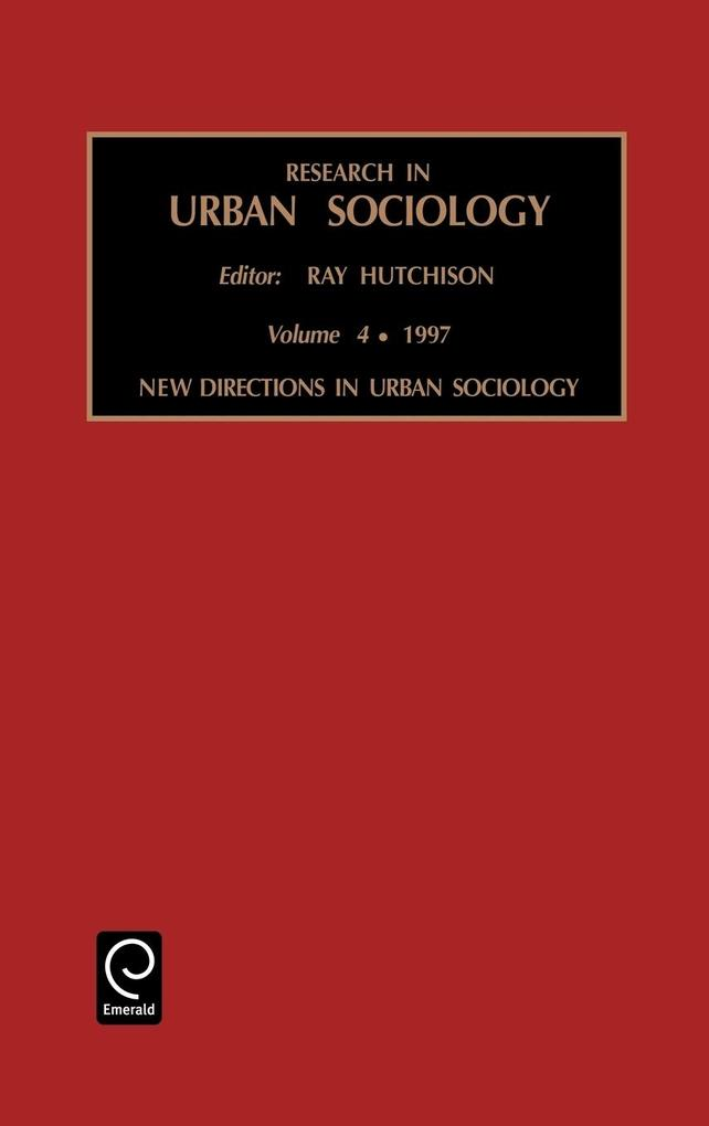 Research in Urban Sociology als Buch
