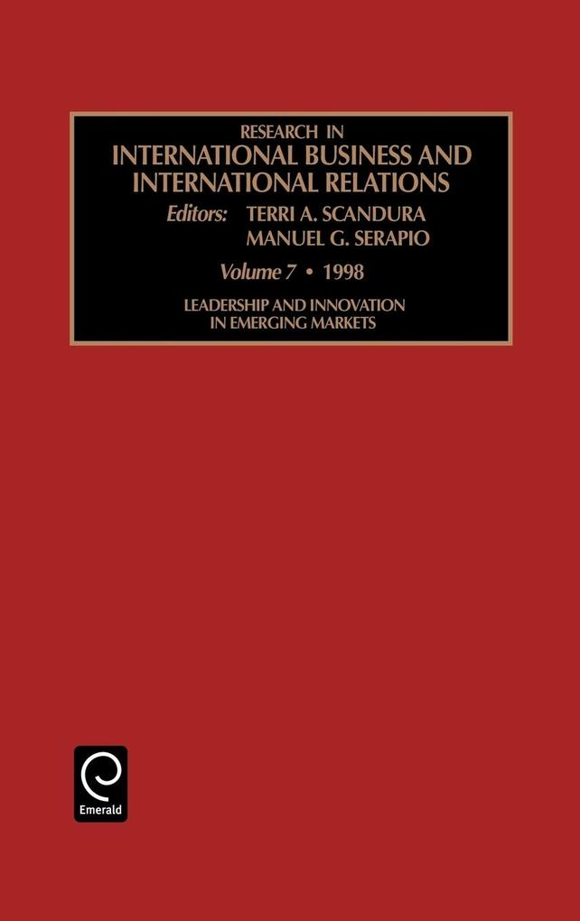 Research in International Business and International Relations als Buch