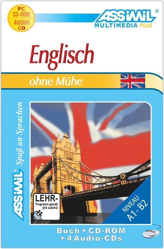 Assimil. Englisch ohne Mühe. Multimedia-PLUS. Lehrbuch und 4 Audio CDs und CD-ROM für Win 98 / ME / 2000 / XP als Software
