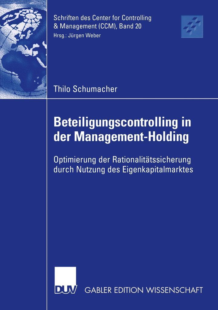 Beteiligungscontrolling in der Management-Holding als Buch