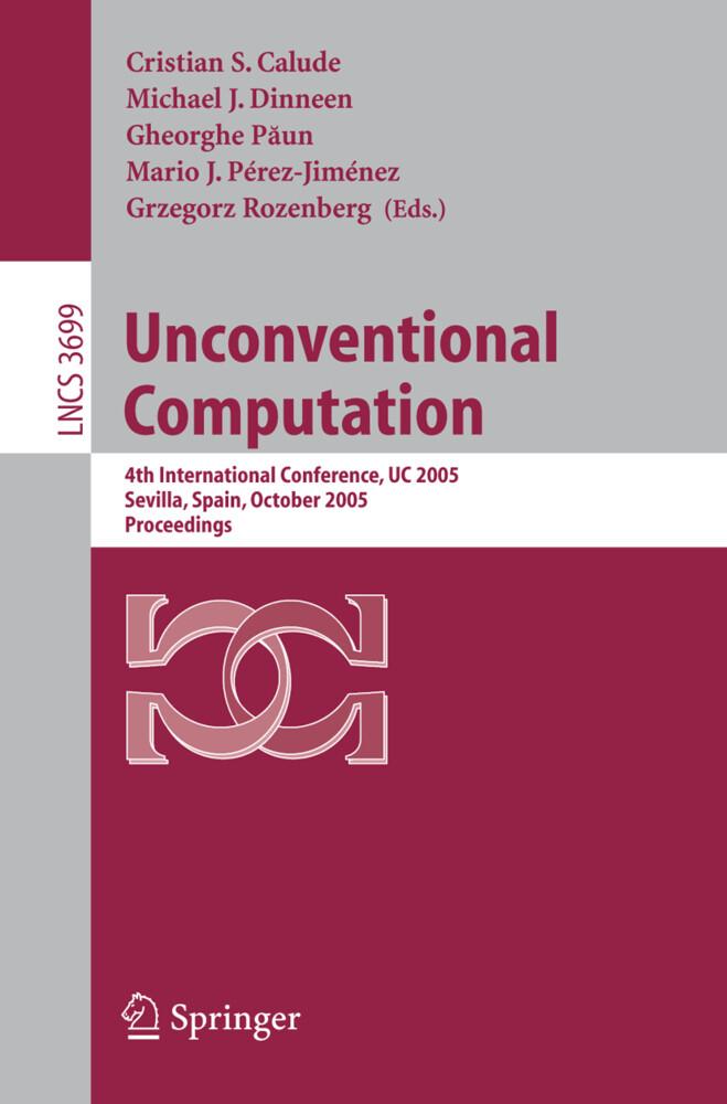 Unconventional Computation als Buch