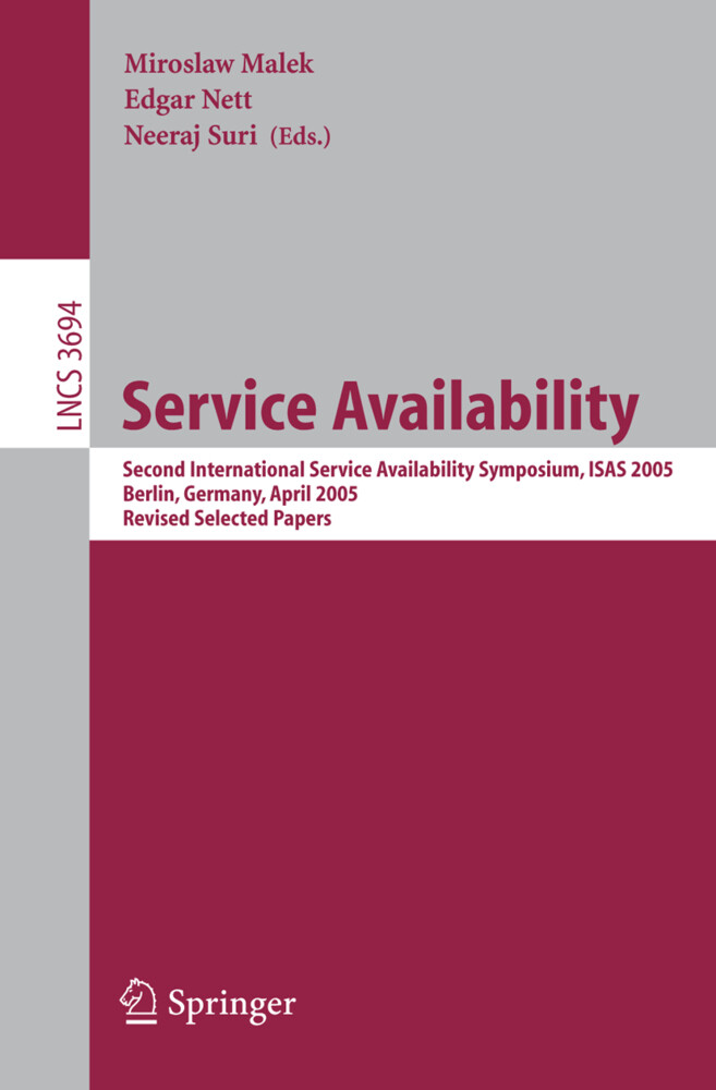 Service Availability als Buch