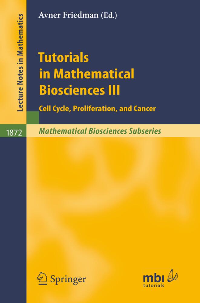 Tutorials in Mathematical Biosciences III als Buch