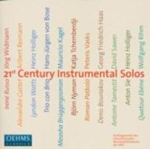 21st Century Instrumental Solos als CD