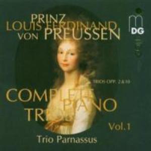 Sämtliche Klaviertrios Vol.1 als CD