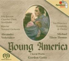 Young America-Chorwerke als CD