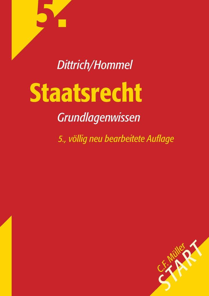 Staatsrecht als Buch