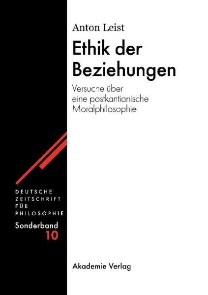 Ethik der Beziehungen als Buch