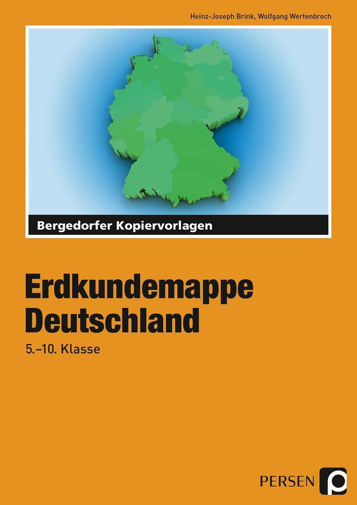 Erdkundemappe Deutschland als Buch