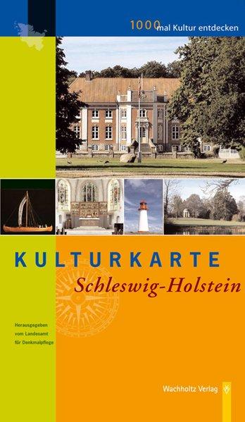 Kulturkarte Schleswig-Holstein als Buch
