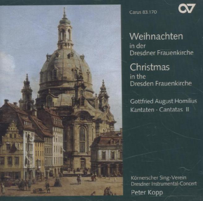 Weihnachten In Der Dresdner Frauenkirche als CD