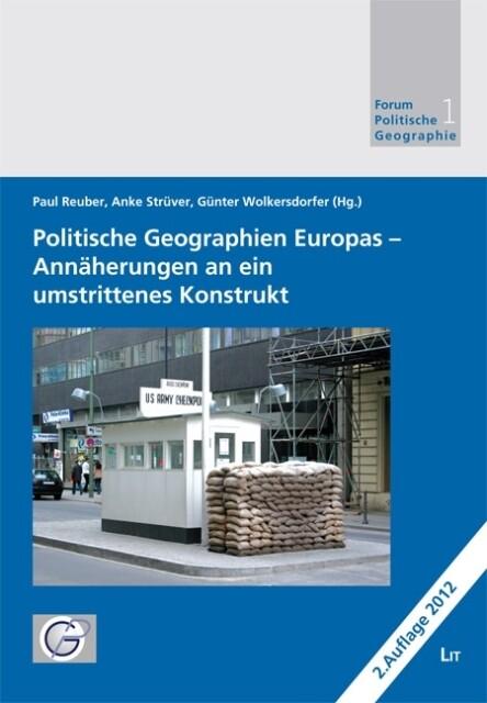 Politische Geographien Europas als Buch