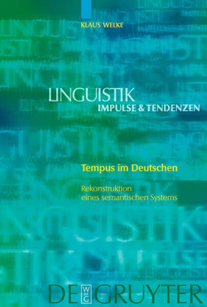 Tempus im Deutschen als Buch