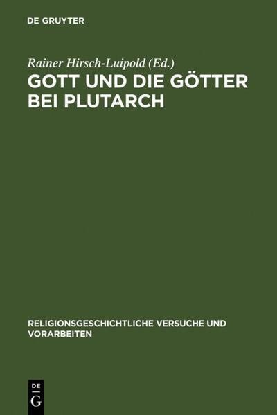Gott und die Götter bei Plutarch als Buch