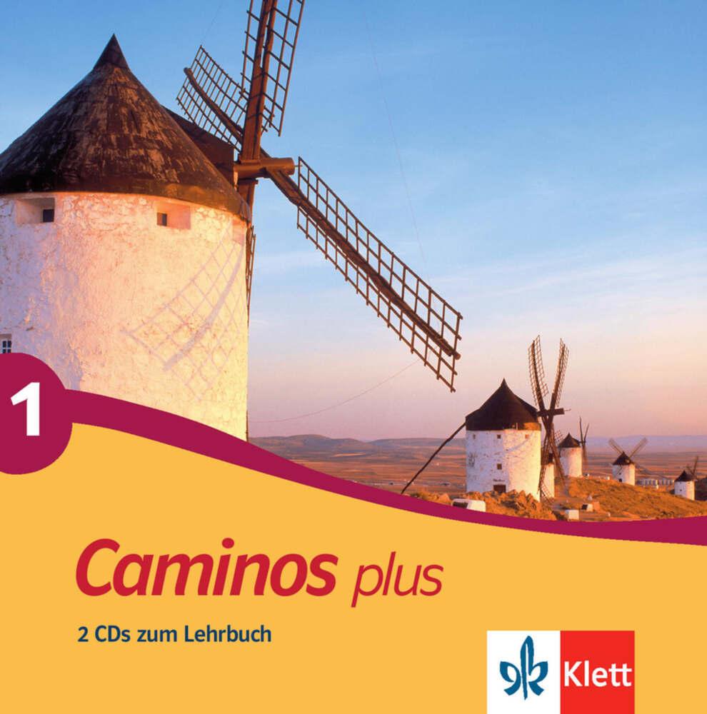 Caminos plus 1. 2 CDs zum Lehrbuch als Hörbuch