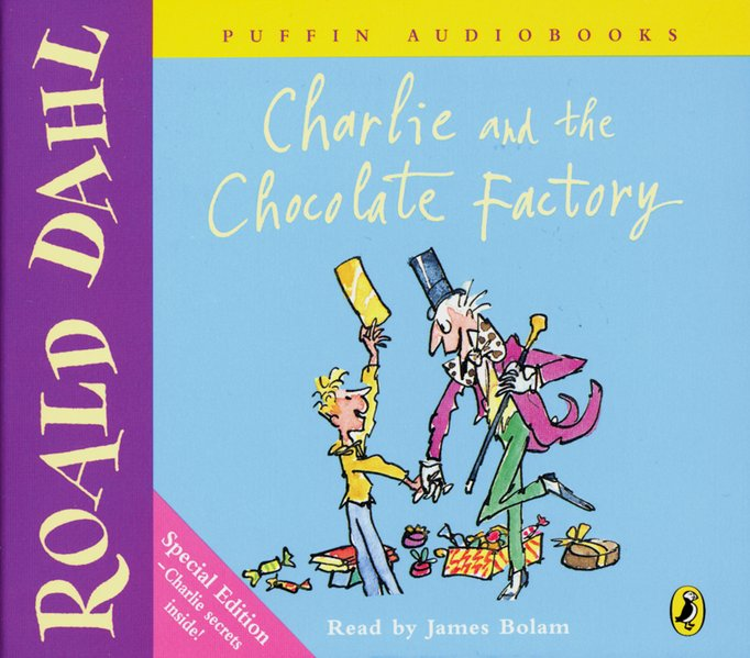 Charlie and the Chocolate Factory, 3 Audio-CDs. Charlie und die Schokoladenfabrik, 3 Audio-CDs, engl als Hörbuch