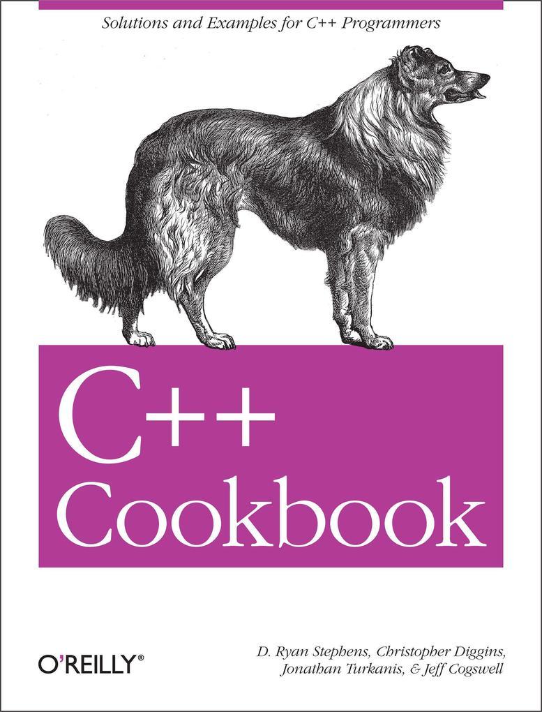 C++ Cookbook als Buch