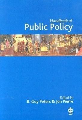 Handbook of Public Policy als Buch