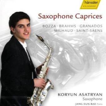 Saxophone Caprices als CD