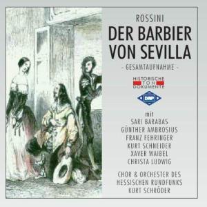 Der Barbier Von Sevilla als CD