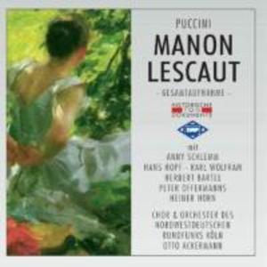 Manon Lescaut (GA) als CD