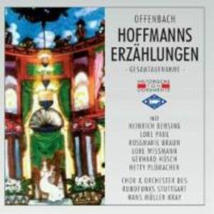 Hoffmanns Erzählungen als CD