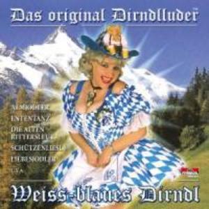 Weiss-blaues Dirndl als CD