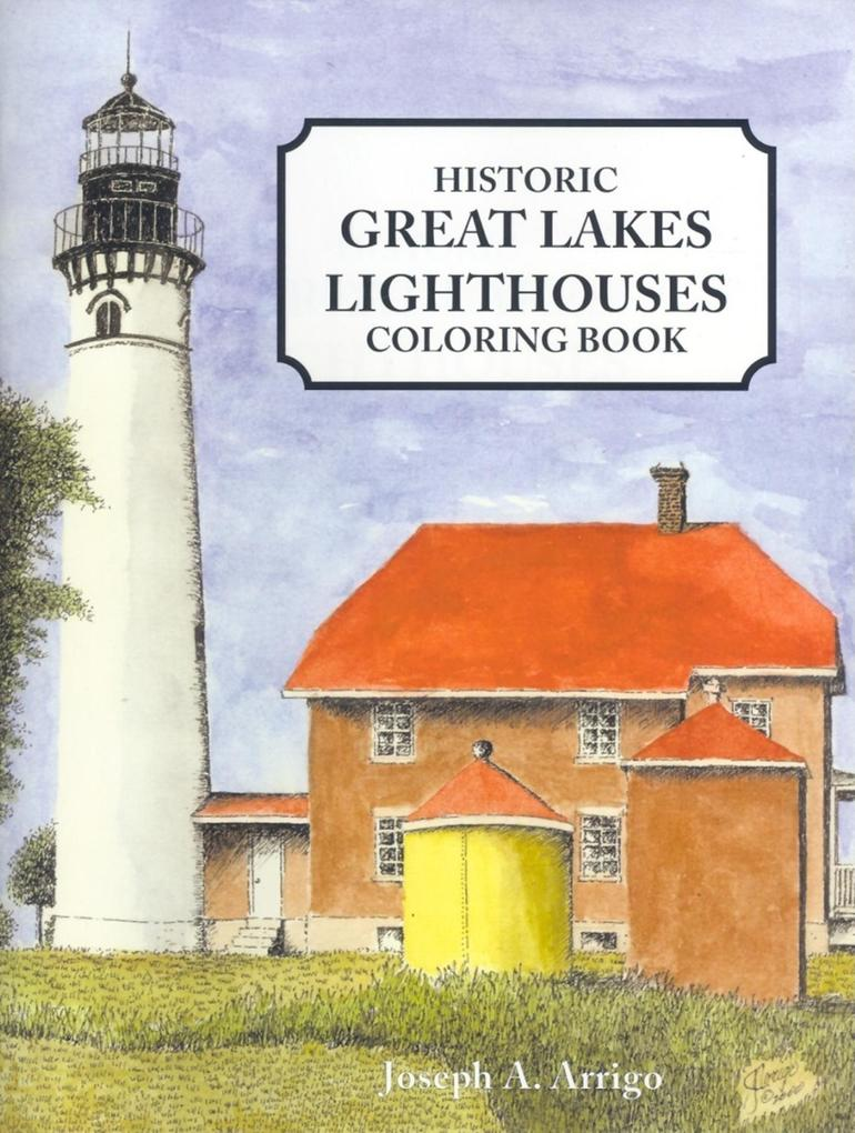 Great Lakes Lighthouses (6 Pack) als Taschenbuch