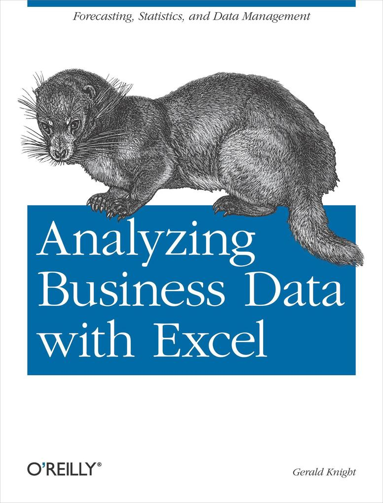 Analyzing Business Data with Excel als Buch