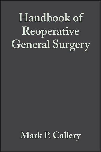 Handbook of Reoperative General Surgery als Taschenbuch