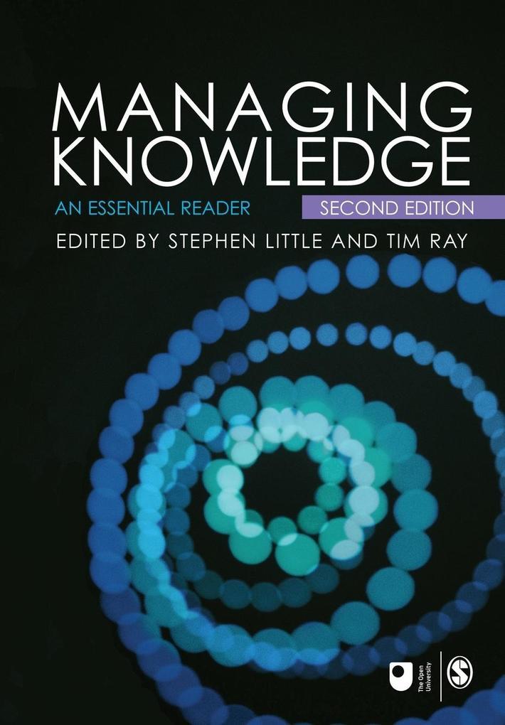Managing Knowledge als Buch