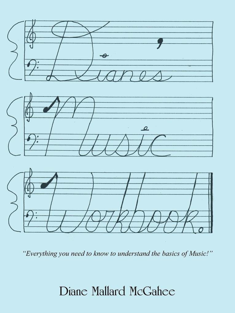 Diane's Music Workbook als Taschenbuch