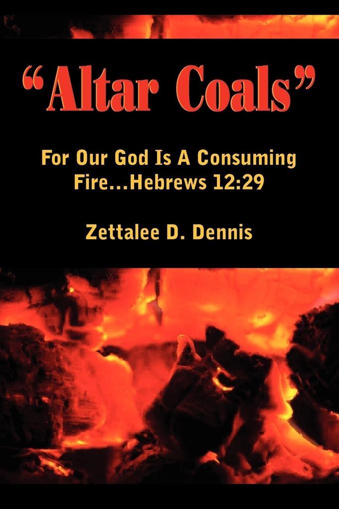 """""""Altar Coals"""" als Taschenbuch"""