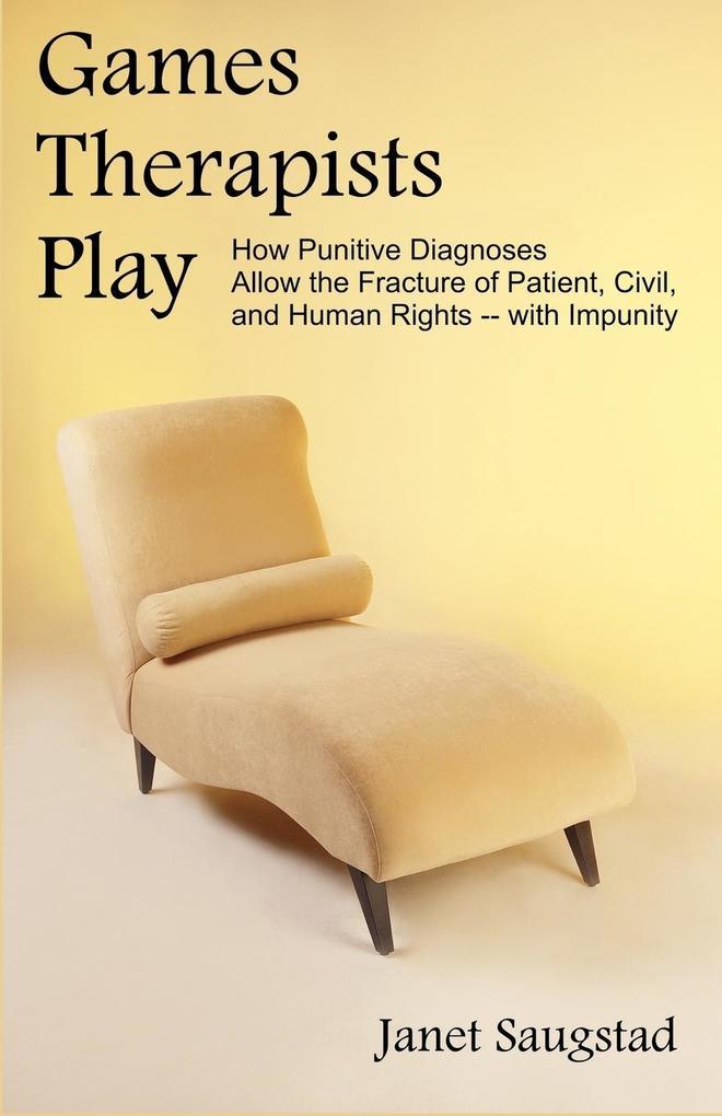 Games Therapists Play als Taschenbuch