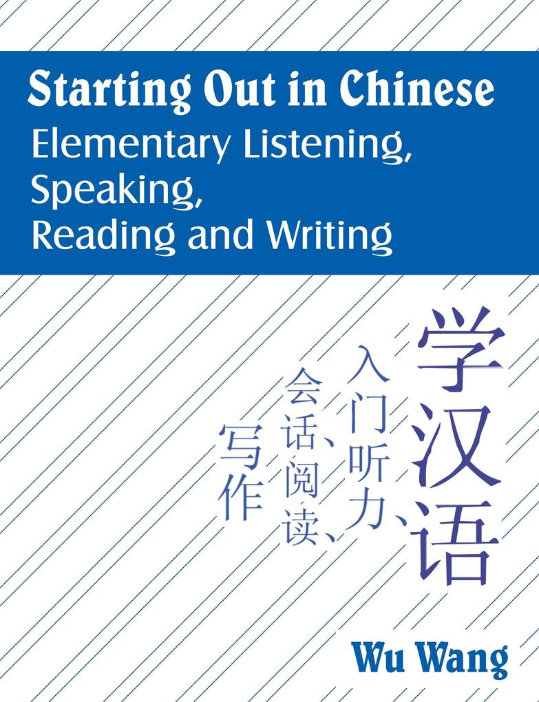 Starting Out in Chinese als Buch