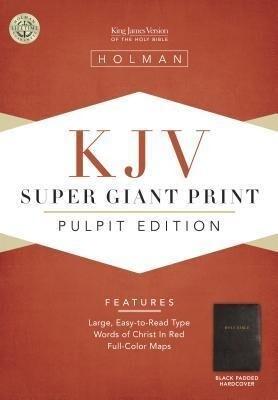Pulpit Bible-KJV Super Giant Print als Buch