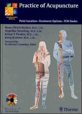 Practice of Acupuncture: Point Location - Treatment Options - Tcm Basics als Buch